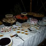 New Year buffet-splendid desserts