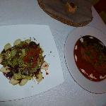 Pear Gorgonzola Salad & Relleno