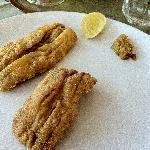 Fried Bombil (Bombay duck)