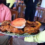Tandoori Giant Crab