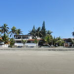 Hotel desde la playa