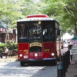 Ride the Red Trolley
