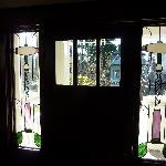 Corkscrew Inn Stained Glass