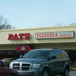 Exterior of Pat's Pizza in Bear