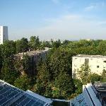 Courtyard Frankfurt NordWestZentrum - standard double room - view from my room