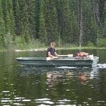 On Colin Lake