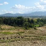 Blick vom Dorf ins Kathmandu Tal