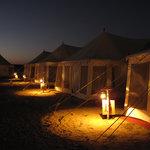 Romantic Swiss tents