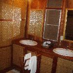 Salle de bain bambou