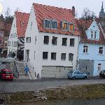 Hotel Tandem..am Eingang zur bekannten Sandstraße..