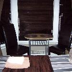 Boutique Room (Table and chairs to chill out)