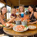 The friendly staff, relaxed atmosphere, and delicious food attract locals and visitors alike.
