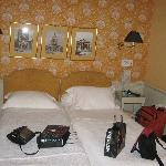 our room #4 after a day's sightseeing and shopping