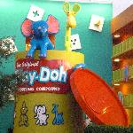 Play Doh statue