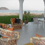 Enjoy a sumptuous gourmet breakfast on the terrace