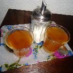 El increible té que los dueños servían a todos los huéspedes, a todas horas!