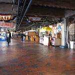 Underground Atlanta on a weekday morning
