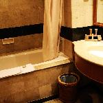 Bathroom of the hotel