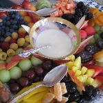 The famous fruit tray