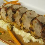 Stuffed Chicken with carrots