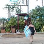 Außendusche Hotel Mermaid