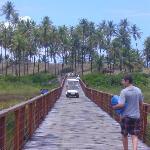 Trayecto a la playa