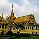 Royal Palace / Silver Pagoda - few minutes walk from hotel