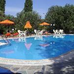 Swimming pool at Nakellis