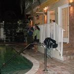 Evening/Poolside