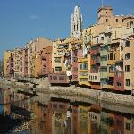 Girona from the Placa Independencia