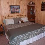 Cabin Rental Suite - King Bedroom