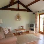 Pump Cottage sitting room