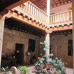 Palacio de Brias - central courtyard