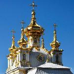 Peterhof Palace, chapel dome & towers