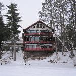 Lodge From Lake Namakagon