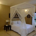 One of the bedrooms in our villa