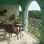 Flamboyant Balcony