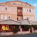Yali Otel from sea