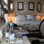 newly refurbished bedroom