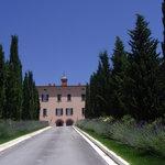 viale accesso villa
