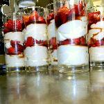 fraise mariné à l'italienne