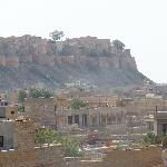 Jaisalmer Fort from roof top
