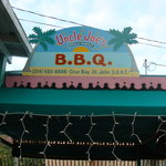 Unlce Joe's BBQ sign