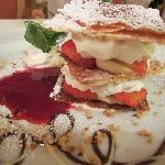 Millefoglie with Strawberries
