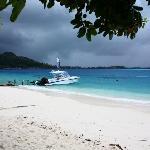 La spiaggia del Temanuata