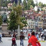 Town scene