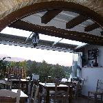 View to Sierra Bermeja from the terrace