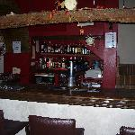 Our well-stocked bar