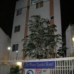 Front of hostel.