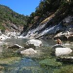 at the south yuba river near the Outside Inn